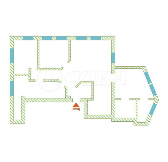 4 комнатная квартира  в районе Яна Фабрициуса, ул. Метелева, 16, г. Сочи