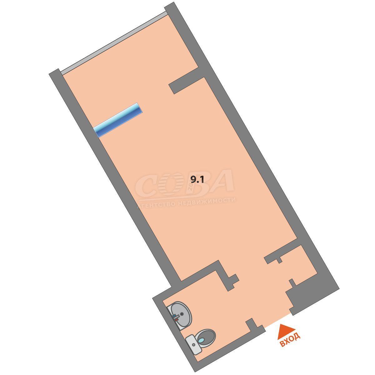 Пансионат в 1 микрорайоне, ул. Олимпийская, 12А, г. Тюмень