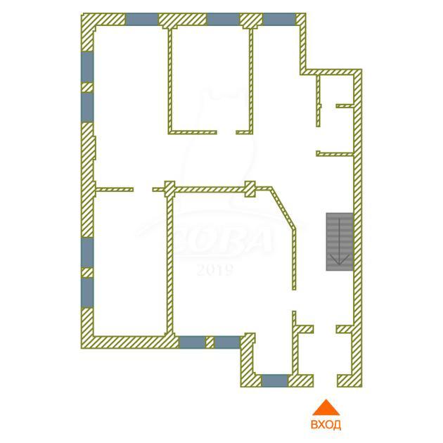 Офисное помещение в жилом доме, аренда, в районе Южный 2/ Чаплина, г. Тюмень