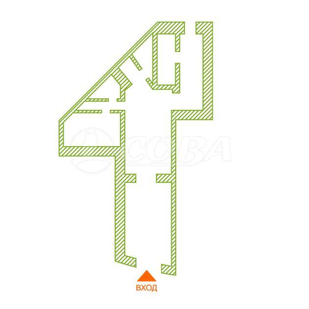Нежилое помещение в жилом доме, аренда, в 1 микрорайоне, г. Тюмень