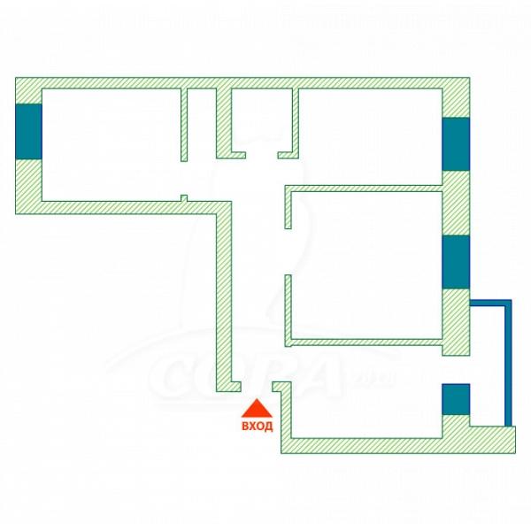 3 комнатная квартира  в Восточном 2 мкрн., ул. Широтная, 193/1, г. Тюмень