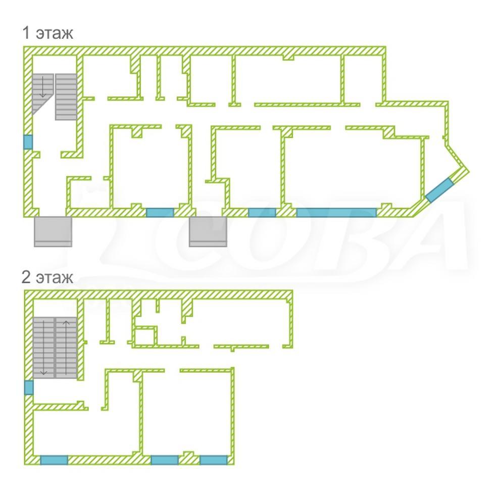 Торговое помещение в отдельно стоящем здании, продажа, в 1 микрорайоне, г. Тюмень