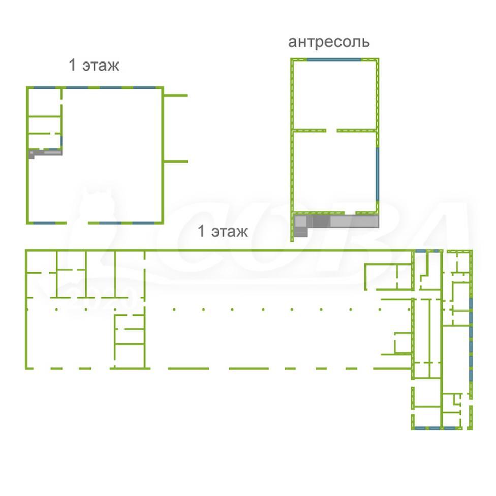 Складское помещение в складском комплексе, аренда, в районе Воровского, г. Тюмень