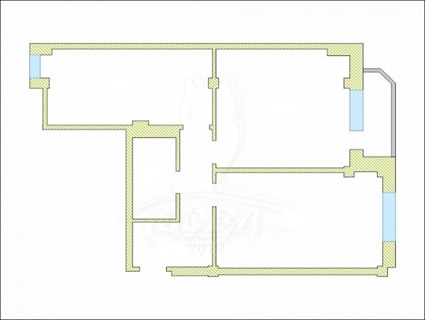 2 комнатная квартира  в районе Нефтегазового университета, ул. Харьковская, 59/4, г. Тюмень