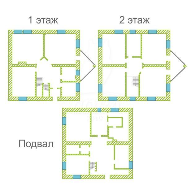 Коттедж с баней, в районе Московский дворик, д. Дударева, по Московскому тракту