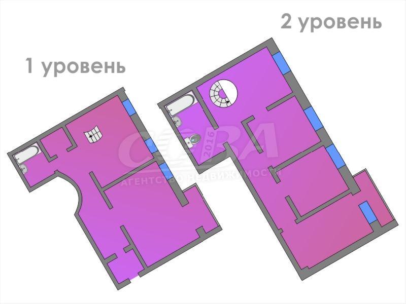 Многокомнатн. квартира  в деловом центре, ул. Герцена, 84/2, г. Тюмень