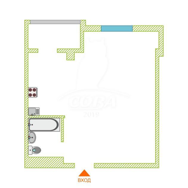 2 комнатная квартира  в районе Адлер Центр, ул. Гастелло, 28, ЖК «Континент», г. Сочи