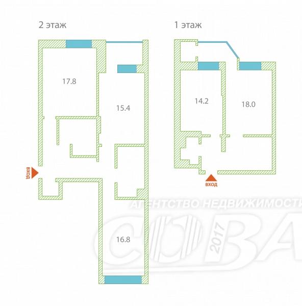 4 комнатная квартира  в районе Университет, ул. Университетская, 3, г. Сургут