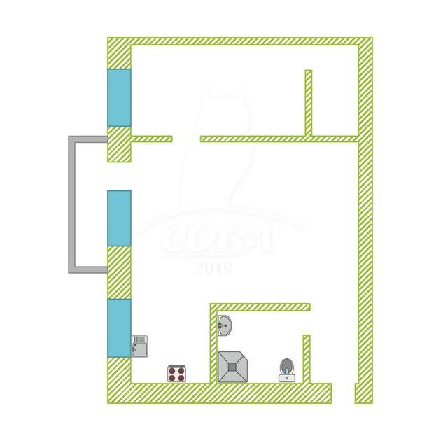 2 комнатная квартира  в районе Выставочного зала, ул. Республики, 165, г. Тюмень