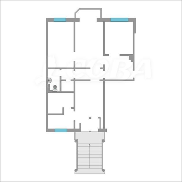 Нежилое помещение в жилом доме, аренда, в районе Драмтеатра, г. Тюмень