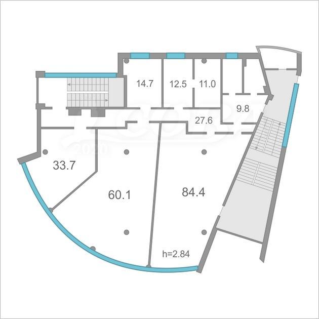 Офисное помещение в отдельно стоящем здании, продажа, на КПД в районе 50 лет Октября, г. Тюмень