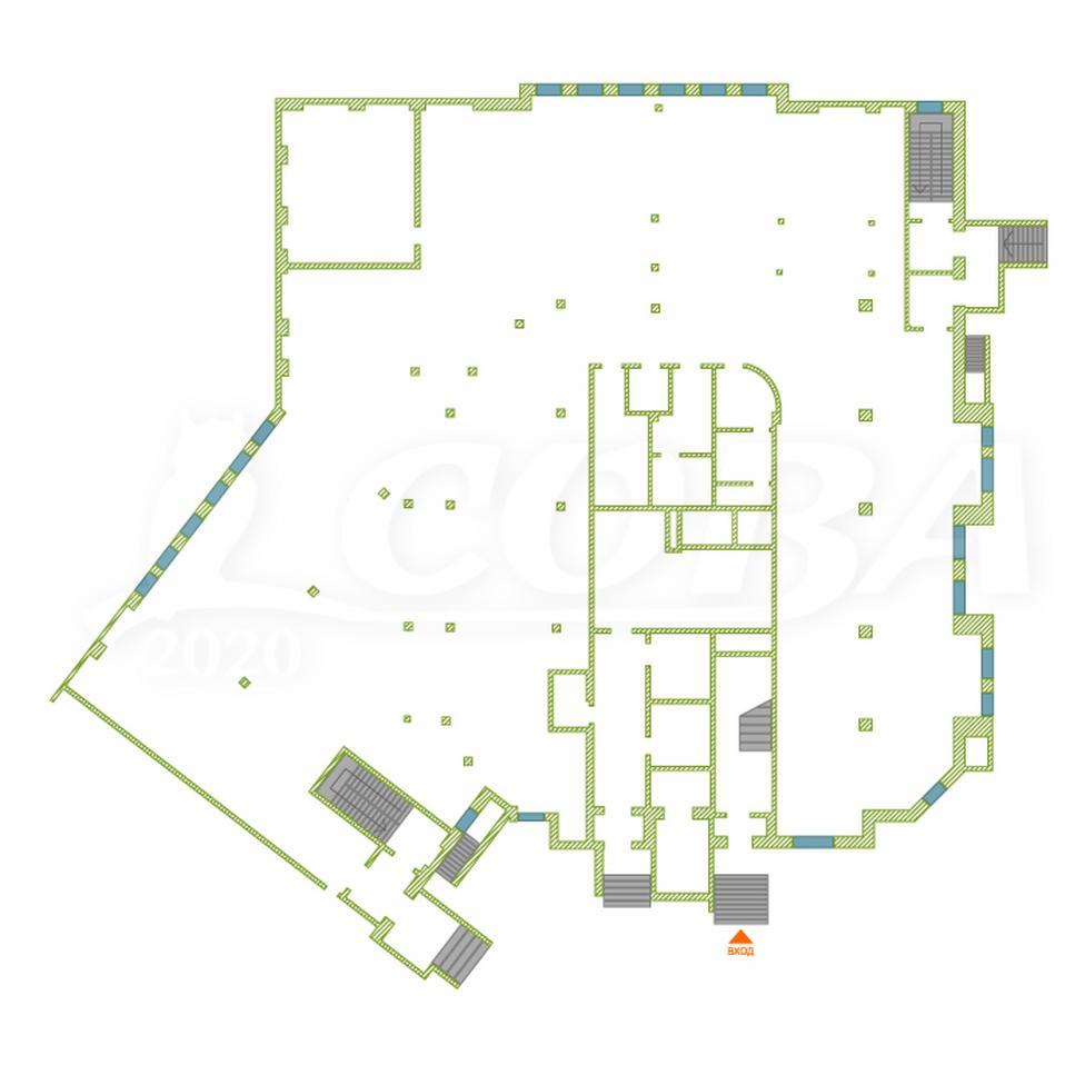 Нежилое помещение в жилом доме, продажа, в Тюменском-2 мкрн., г. Тюмень