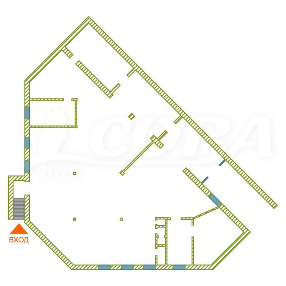Нежилое помещение в отдельно стоящем здании, аренда, в 6 микрорайоне, г. Тюмень