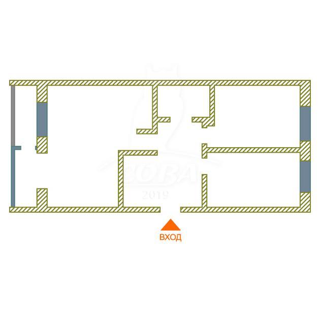 3 комнатная квартира  в Европейском мкрн., ул. Газовиков, 63, Микрорайон «Европейский», г. Тюмень