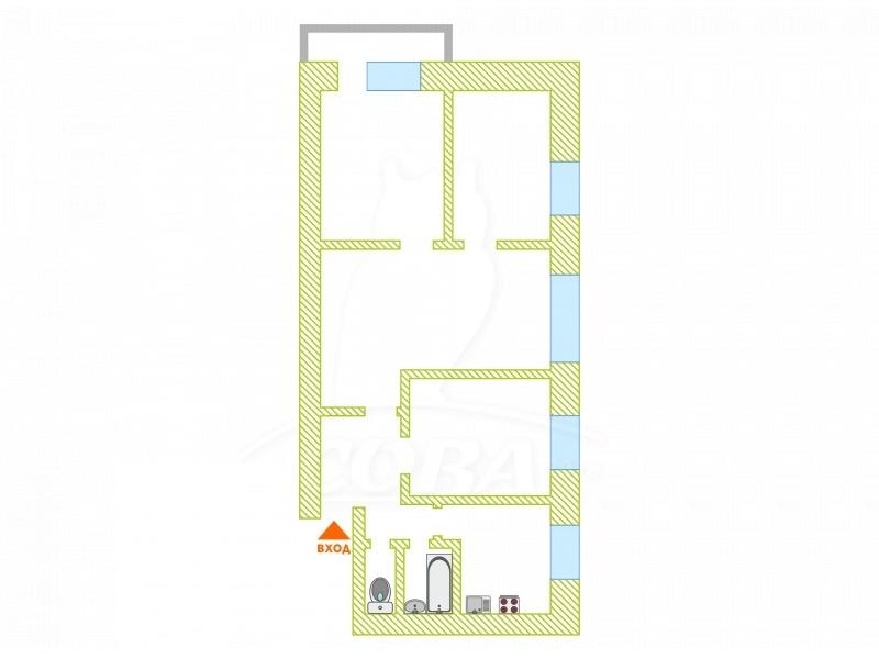 4 комнатная квартира  в районе Маяк, ул. Парковая, 2А, г. Тюмень