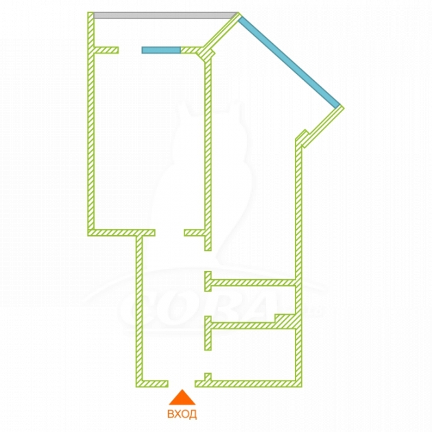 1 комнатная квартира  в районе Дагомыс, ул. Ленинградская, 23, ЖК «Ленинград», г. Сочи
