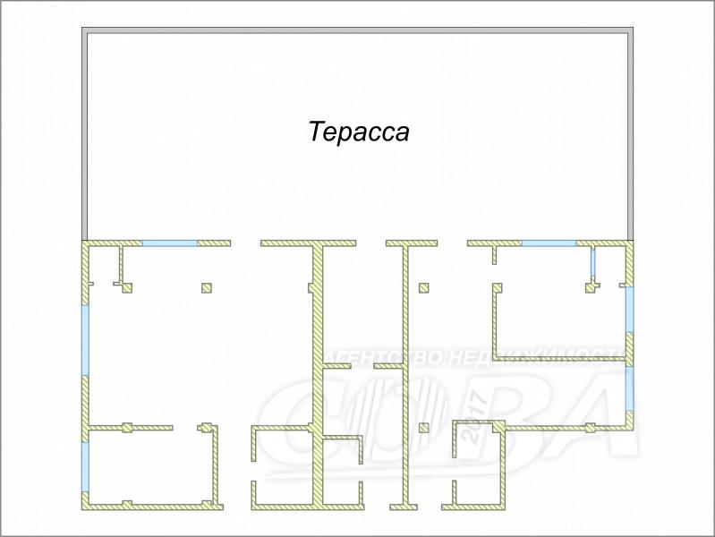 4 комнатная квартира  в районе Тимирязева , ул. Тимирязева, 46/4, г. Сочи