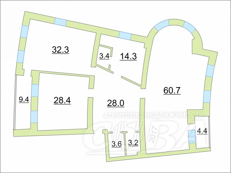 2 комнатная квартира  в районе КПД (Геологоразведчиков), ул. Республики, 156/1, г. Тюмень