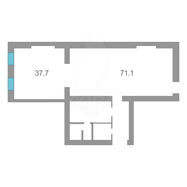Салоны услуг в жилом доме, продажа, в районе ул.Малыгина, г. Тюмень
