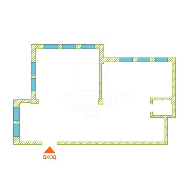 Нежилое помещение в жилом доме, аренда, в районе Южный 2/ Чаплина, г. Тюмень