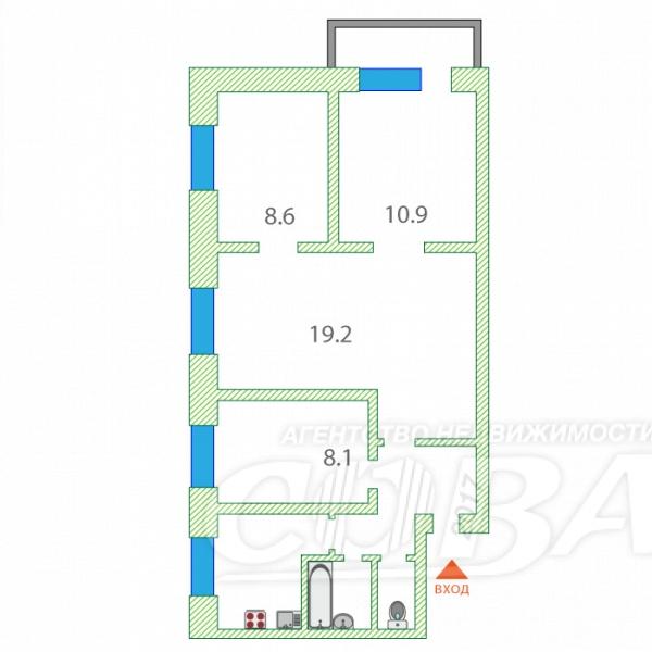 4 комнатная квартира  в районе Дом Обороны, ул. Белинского, 6А, г. Тюмень