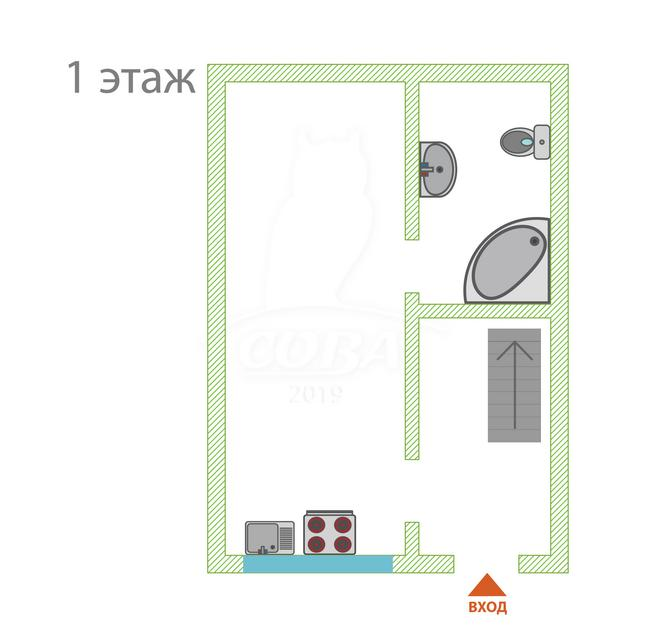 3 комнатная квартира  в районе Адлер Центр, ул. Пархоменко, 19, г. Сочи