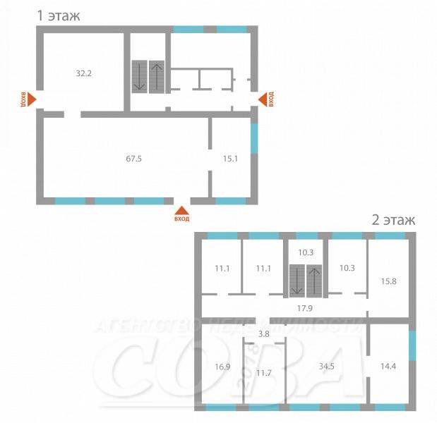 Нежилое помещение в отдельно стоящем здании, продажа, с. Солобоево