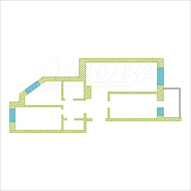 3 комнатная квартира  в районе Мыс, ул. Тимофея Чаркова, 79/3, ЖК «Звездный городок», г. Тюмень