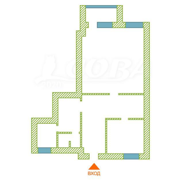 Нежилое помещение в жилом доме, продажа, в районе Мыс, г. Тюмень
