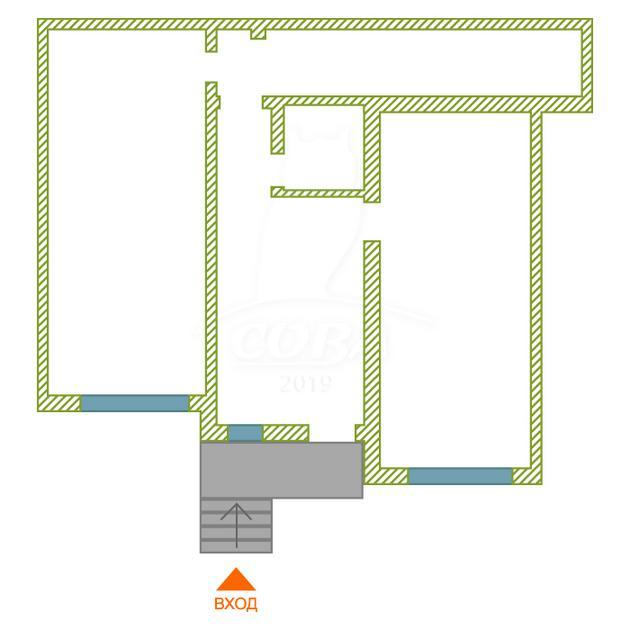 Нежилое помещение в жилом доме, продажа, в Тюменском-3 мкрн., г. Тюмень