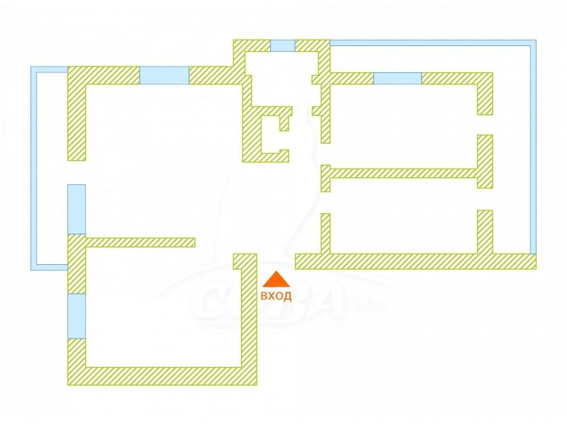 3 комнатная квартира  в районе Драмтеатра, ул. Фабричная, 9, г. Тюмень