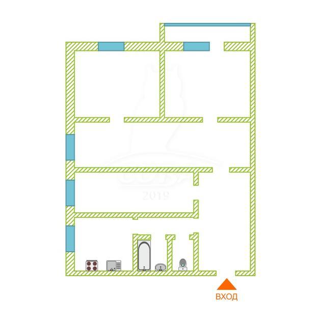 4 комнатная квартира  в районе Маяк, ул. Парковая, 4А, г. Тюмень