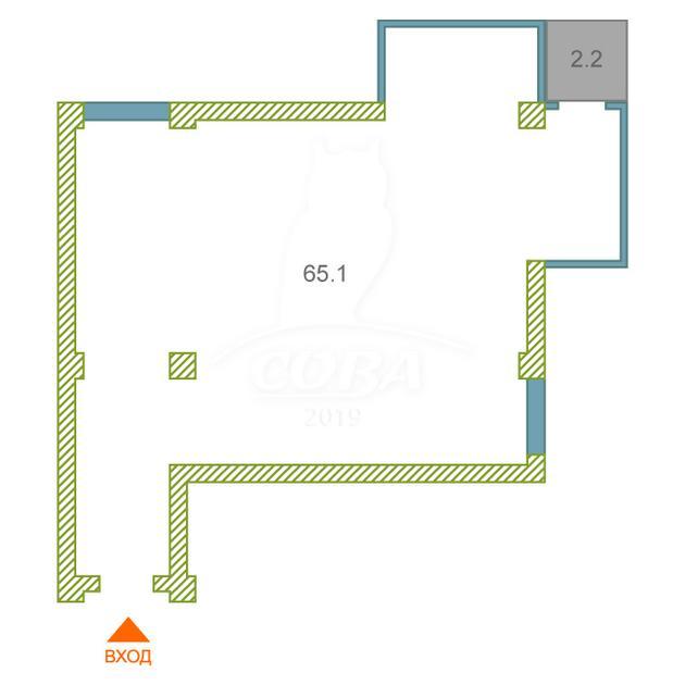 2 комнатная квартира  в районе Нижнеимеретинская Бухта, ул. Нижнеимеретинская, 137А, г. Сочи