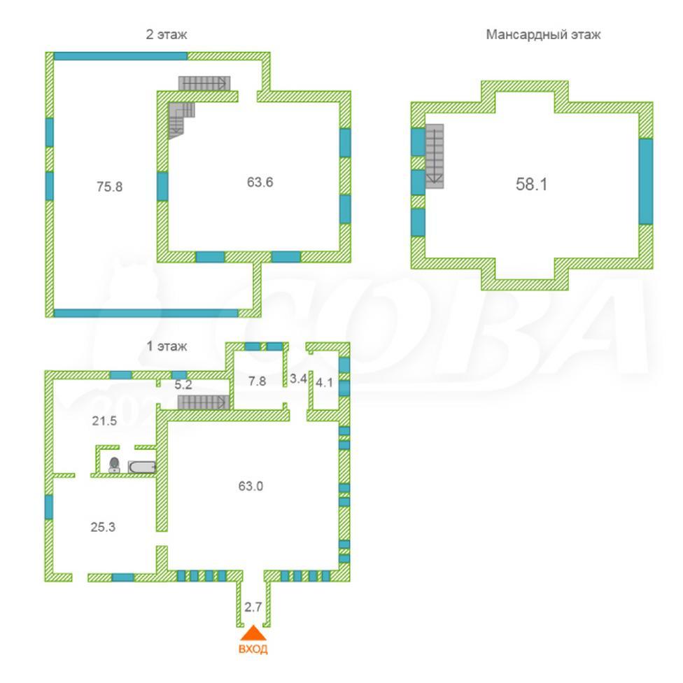 Нежилое помещение в жилом доме, продажа, в районе Калинина, г. Тюмень