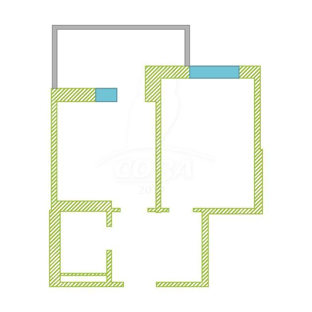 1 комнатная квартира  в Тюменском-2 мкрн., ул. Станислава Карнацевича, 4, ЖК «Ямальский-1», г. Тюмень