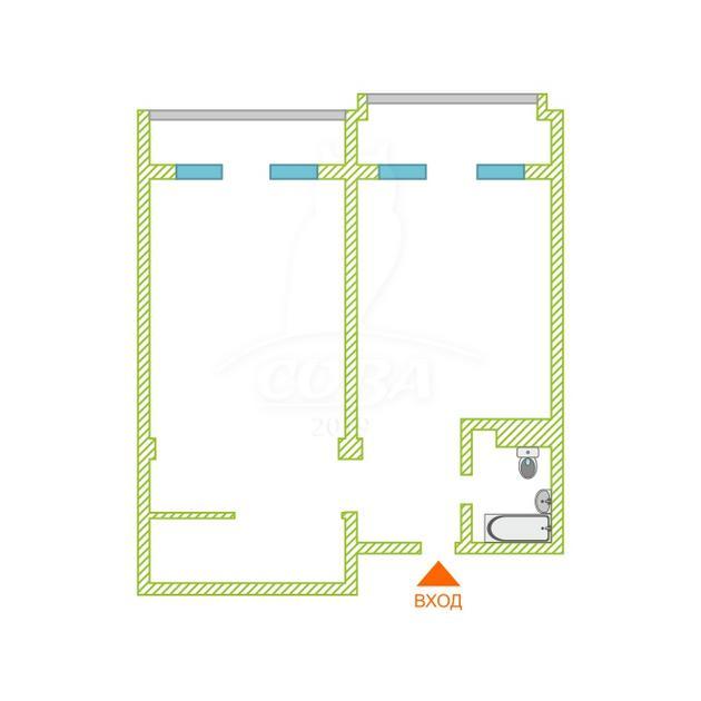 2 комнатная квартира  в районе Адлер Центр, ул. Ленина, 172Б, г. Сочи