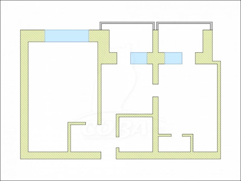 2 комнатная квартира  в районе Маяк, ул. Карла Маркса, 104, г. Тюмень