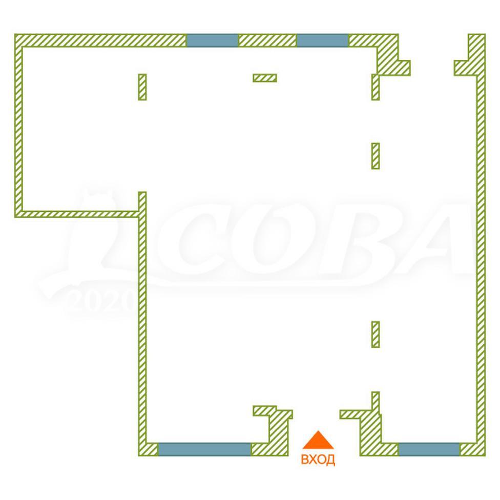 Торговое помещение в жилом доме, аренда, в Европейском мкрн., г. Тюмень