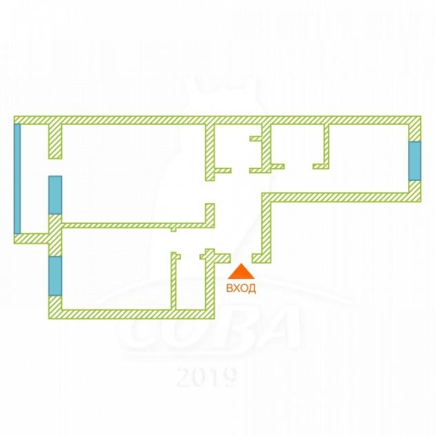 2 комнатная квартира  в Заречном 2 мкрн., ул. Заречный проезд, 14, ЖК «Фэнси», г. Тюмень