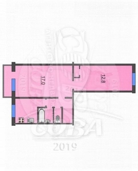 2 комнатная квартира  в районе Дом Обороны, ул. Белинского, 7, г. Тюмень