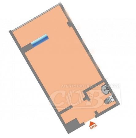 1 комнатная квартира  в районе Электрон, ул. Республики, 239, г. Тюмень